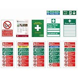 Image of Signs Starter Pack for Small Sized Businesses [Pack 10]