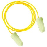 Image of JSP SoundStop Corded Ear Plugs / PU Foam / Yellow / 100 Pairs