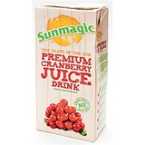 Image of Sunmagic Cranberry Juice - 12 x 1 Litre Cartons