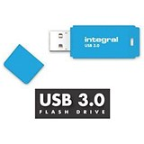 Image of Integral Neon 3.0 USB Drive / 128GB / Blue