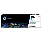 Image of Hewlett Packard [HP] No. 203A Laser Toner Cartridge Page Life 1300pp Cyan Ref CF541A