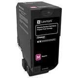 Image of Lexmark CS720 Toner Cartridge Return Program High Yield Page Life 7000pp Magenta Ref 74C2SM0