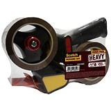 Image of Scotch Tape Dispenser kit with 2 x Heavy Packaging Tape Low Noise - 50mmx66m