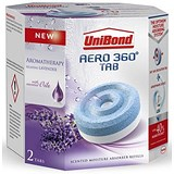 Image of UniBond Aero 360 Moisture Absorber Refill Ultra-absorbent Lavender 90 Days Ref 2091273 [Pack 2]