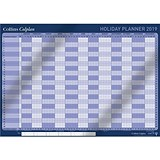 Collins 2019 Colplan Holiday Planner / Unmounted / A1 / Activity Labels and Pen Included