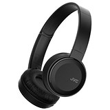 Image of JVC Wireless Headphones On Ear Bluetooth 10m Range Micro USB Black HA-S30BT-B-E
