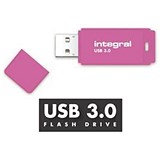 Image of Integral Neon 3.0 USB Drive / 128GB / Pink