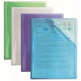 Elba 2nd Life Recycled Display Book / 40 Pockets / A4 / Assorted / Pack of 4