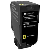 Image of Lexmark CS720 Series Toner RP Yellow Ref 74C2SY0