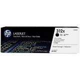 HP 312X Black Toner Cartridge - Pack of 2