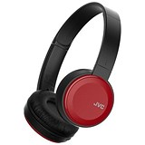 Image of JVC Wireless Headphones On Ear Bluetooth 10m Range Micro USB Red Ref HA-S30BT-R-E
