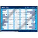 Collins 2019 Colplan Year Planner Unmounted / A1 / Activity Labels and Pen Included