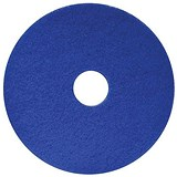 Maxima 17in Floor Polish Pads / Blue / Pack of 5