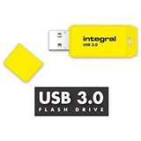 Image of Integral Neon 3.0 USB Drive / 128GB / Yellow