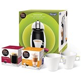 Image of Dolce Gusto Manual Coffee Machine 15-Bar Pump Includes 2-Boxes of Coffee Capsules Ref 12304158