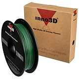 Image of Inno3D ABS Filament for 3D Printer 1.75x200mm 0.5kg Dark Green Ref 3DPFA175SG05