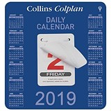 Collins 2019 Daily Block Tear Off Day of the Year Calendar