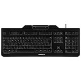 Image of Cherry KC 1000 SC Security Keyboard / Chip Card Terminal / Black