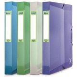 Elba 2nd Life Recycled Box File / 40mm Spine / A4 / Assorted / Pack of 4