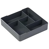 Durable Coffee Point High Quality Case / Square Serving Aid / Charcoal