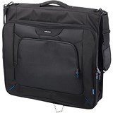 Image of Lightpak Travel Garment Bag Main Compartment with Hanger Polyester Black Ref 46131