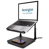 Image of Kensington SmartFit Laptop Riser with Wireless Phone Charging Pad K52784WW