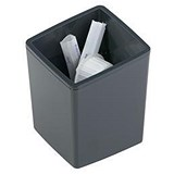 Image of Durable Coffee Point Bin Small Recycling Container Charcoal Ref 338858