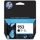 Image of HP 953 Black Ink Cartridge