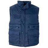Image of Supertouch Multi Pocket Bodywarmer / Navy / XXL
