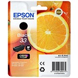 Epson T33 Black Inkjet Cartridge
