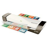 Leitz iLam Office Laminator Up To 125 Microns 1min Warm-up Time A4 Silver [Promo]