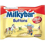 Image of Milky Bar Buttons White Chocolate Mini Bags 189g Ref 12132820