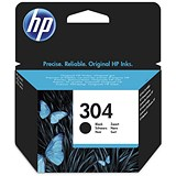 Image of HP 304 Black Ink Cartridge