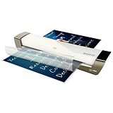 Leitz iLam Office Laminator Up To 125 Microns 1min Warm-up Time A3 Silver [Promo]