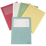 Image of Leitz Window Folder 160gsm A4 Assorted Ref 3950-99-99 [Pack 100]