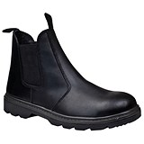 Image of Supertouch Dealer Boot / Leather / Pull-On Design / Size 8 / Black