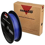 Image of Inno3D PLA Filament for 3D Printer 1.75x200mm 0.5kg Blue Ref 3DPFP175BL05