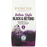 Percol Fairtrade Italian Style Black & Beyond Ground Coffee - 227g