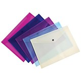 Image of Concord A4 Value Stud Wallet File / Assorted / Pack of 5