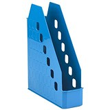 Avery Basics Low Front Magazine Rack / A4 / Blue