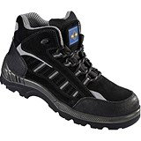Rock Fall ProMan Boots / Suede / Size 8 / Black