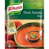 Image of Knorr Tomato Soup / Ready-to-Eat / 250ml / Pack of 12