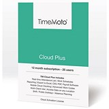 Image of Safescan TimeMoto TM Cloud Plus Time & Attendance System - 25 Users