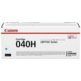 Canon 040H High Yield Cyan Laser Toner Cartridge