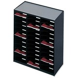 Paperflow Modulodoc Mailsorter / 36 x A4 Compartments / Black