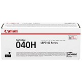 Canon 040H High Yield Black Laser Toner Cartridge