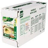 Image of Knorr Cream of Chicken Soup / Ready-to-Eat / 250ml / Pack of 12