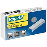 Image of Rapid Omnipress 30 Staples (6mm) / Box of 1000