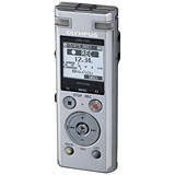 Olympus DM-720 Dictation Machine Silver Rechargeable Built In USB Ref V414111SE000