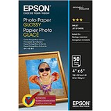Image of Epson Premium Semi Glossy Photo Paper / 100x150mm / 200gsm / Pack of 50